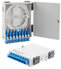 FTTH (Fiber To The Home) Metal Terminal Box with 8 Simplex SC/UPC Couplers and Pigtails -- LCFTB-108A-SC -Image