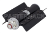 60 Watt RF Load Up to 2.7 GHz with 4.1/9.5 Mini DIN Male Black Anodized Aluminum -- PE6TR1030 -- View Larger Image