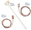 Cement-On Surface Thermocouples -- CO Series