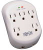 5 Outlet, Direct Plug-in, 1080 Joules, 1-line RJ 11 Protection - Protect It! Surge Suppressor -- SK5TEL-0 - Image