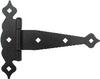 Decorative Black Tee Hinge, Heavy Duty -- 215450