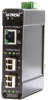 3 Port Gigabit Ethernet Switch (1 10/100/1000BaseT, 2 SFP 1000BaseT/SX/LX) -- 1003GX2 - Image