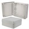 7x7x3 Inch Miniature Industrial Enclosure with Corner Screws -- NBV773 -Image
