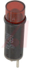 Lamp;LED; Red; Cylindrical; 1.8 V; 10 mA; 0.33 in.; 900 Series -- 70213958