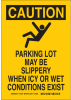 Brady B-401 Polystyrene Rectangle Yellow Fall Prevention Sign - 10 in Width x 14 in Height - 124209 -- 754473-79975