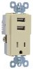 Combination Switch/Receptacle -- TM8-USBICC6 -- View Larger Image