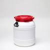 55 Liter Wide Neck Plastic Drum -- 7055 - Image