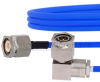 TNC Male to RA TNC Male Cable FM141FLEX Coax in 12 Inch and RoHS Compliant -- FMCA1044-12 -Image