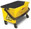 Rubbermaid Press Wring Microfiber Mop Bucket -- RM-Q90088