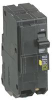 SQUARE D - QO250GFI - CIRCUIT BREAKER, THERMAL MAG, 2P, 50A -- 608470