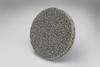 3M Scotch-Brite XL-UR Unitized Aluminum Oxide Soft Deburring Wheel - Medium Grade - Quick Change Attachment - 2 in Diameter - 17185 -- 048011-17185 - Image