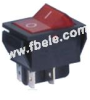 Double-poles Rocker Switch -- IRS-201-1B ON-OFF - Image