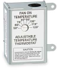 Thermostat,Attic Fan Control,120 Volt -- 3HJN6