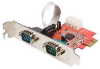 StarTech.com 2 Port Native PCI Express RS232 Serial Adapter -- PEX2S952