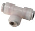 """Push-to-connect Union Tee, PVDF, 3/8"""" Tube OD, Pack Of 10 -- GO-34040-25 -- View Larger Image"""
