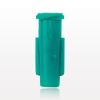 Tapered Female Luer Lock Connector, Teal -- 65281 -Image