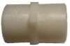 Plastic Pipe Fitting Coupler -- FPC-2F