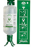 Scienceware Plum Sterile Saline DUO Eyewash Station, 1000 mL -- GO-06796-42
