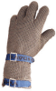 Honeywell Chainex Gray Small Stainless Steel Mesh Work & General Purpose Gloves - Uncoated - 801462-137491 -- 801462-137491
