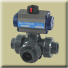 3-Way PVC Ball Valve -- IC-3W Series