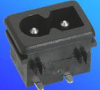 Power Inlets IEC 320-C2 -- AEL- JR201SD8 - Image