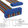 Rectangular Cable Assemblies -- C3BPS-2606M-ND -Image