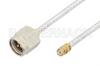 SMA Male to SMP Female Cable 36 Inch Length Using PE-SR405FL Coax, RoHS -- PE36168LF-36 -Image