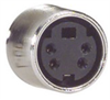 Assembled S-Video Cable, Male / Female, 1.0 ft -- CCD244MF-1 - Image