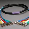 PROFlex Video Cable 5Ch 3C RCAP-RCAP 10' -- 305VS3C-RR-010