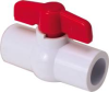 PVC BALL VALVE 1/2 IN. SLIP X SLIP -- 130005