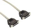 Extended-Distance Data Cable with Removable Hoods, 12 Conductors (6 Pairs), 35-ft., F/F -- EDN12C-0035-FF