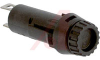 Fuseholder; 5 mm x 20 mm Size Fuses; 10A; 250 V; Thermoplastic; Panel Mount -- 70160246