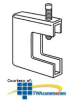 "Erico Wide Mouth Beam Clamp, up to 1 5/8"" Flange Size.. -- BC140037EG"