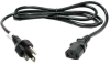 1 ft 18 AWG Universal Power Cord ( IEC320 C13 to NEMA 5-15P) -- P7B1-01 - Image