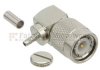 Right Angle TNC Male (Plug) Connector For RG174, RG316, RG188, LMR-100 Cable, Crimp/Solder -- FMCN1150 -Image