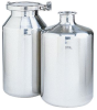 Stainless Steel Sanitary Bottles -- GO-07506-31
