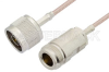 N Male to N Female Cable 24 Inch Length Using RG316 Coax -- PE3986-24 -- View Larger Image