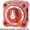 Blue Sea Systems 6011 m-Series Mini Dual Circuit Plus Battery Switch, 300A, Red - Bulk Packaging