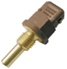 ES120 Series immersion temperature probe, NTC, 2,000 Ohm, ±5.0% tolerance, 20 °C [68 °F] accuracy, brass, threaded body (M12x1.5), overmolded connector/2 Pin MINI TIMER -- ES120-0030