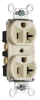 Duplex/Single Receptacle -- 5362CD-I - Image