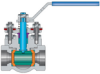 Top-entry In-line Repairable Ball Valves -- View Larger Image