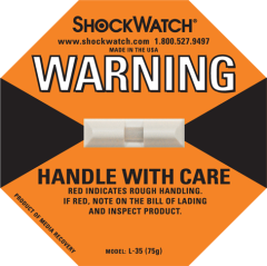 Damage Indicators via ShockWatch