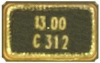 Oscillator Crystal -- 403C35E26M00000 -Image