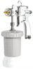 S3 A HPA Manual Airspray Spray Gun Suction