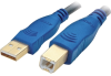 Accell A001C-010B Gold Series USB 2.0 A/B Cable 10' -- A001C-010B