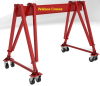 Tri-Adjustable Steel Portable Crane -- 8T19-M30
