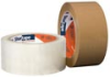 General Purpose grade packaging tape, 25 micron cast BOPP film, Synthetic rubber/resin hot melt adhesive -- HP 100