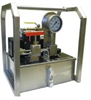 Hydrostatic Test Pumps with Reservoir -- Sprague, Reservoir Power Unit