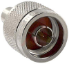 Connector Accessory;RF Coaxial;N Male Cap Resistor Terminated;50 Ohms;5%; 1 Watt -- 70142961