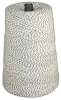 4 PLY VARIEGATED BLACK & WHITE 2# LB. CONE -- 07-044